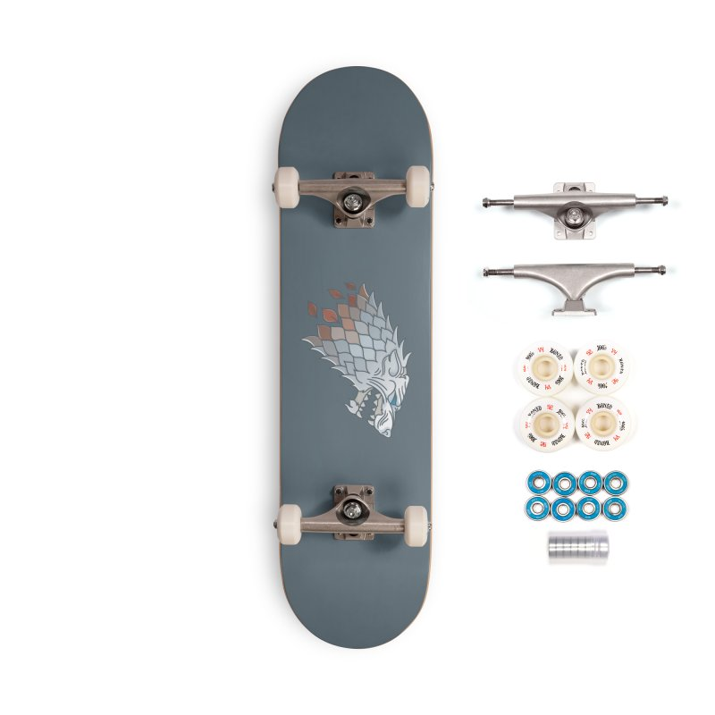 Winter Has Come Accessories Complete - Premium Skateboard by Quick Brown Fox