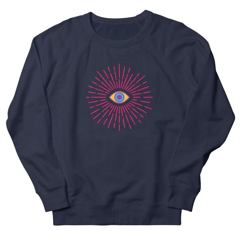 Third Eye Men's Sweatshirt by Quick Brown Fox