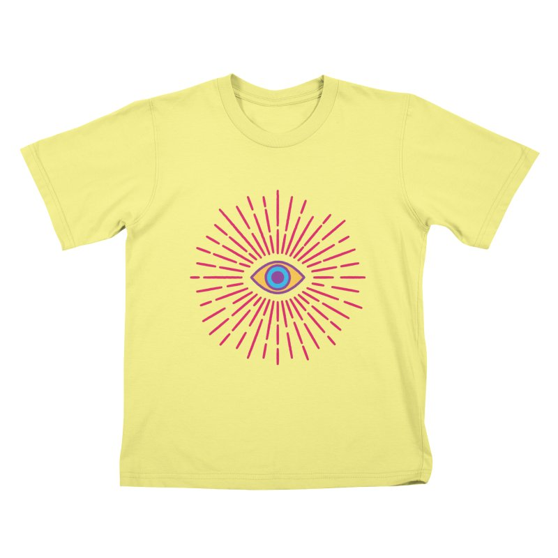 Third Eye Kids T-shirt by Quick Brown Fox