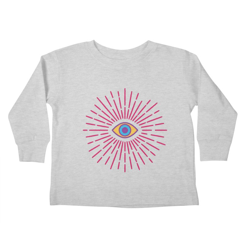 Third Eye Kids Toddler Longsleeve T-Shirt by Quick Brown Fox