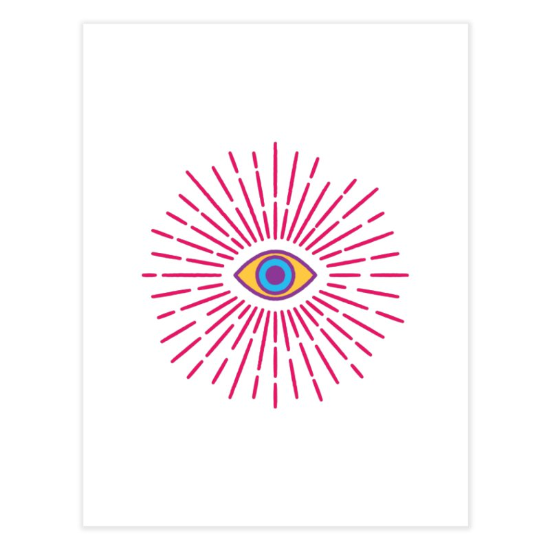Third Eye Home Fine Art Print by Quick Brown Fox
