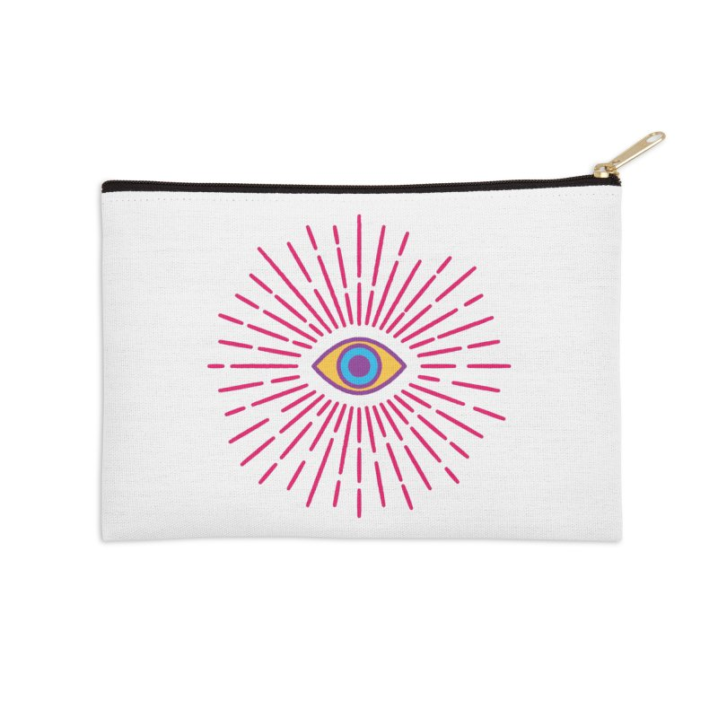 Third Eye Accessories Zip Pouch by Quick Brown Fox
