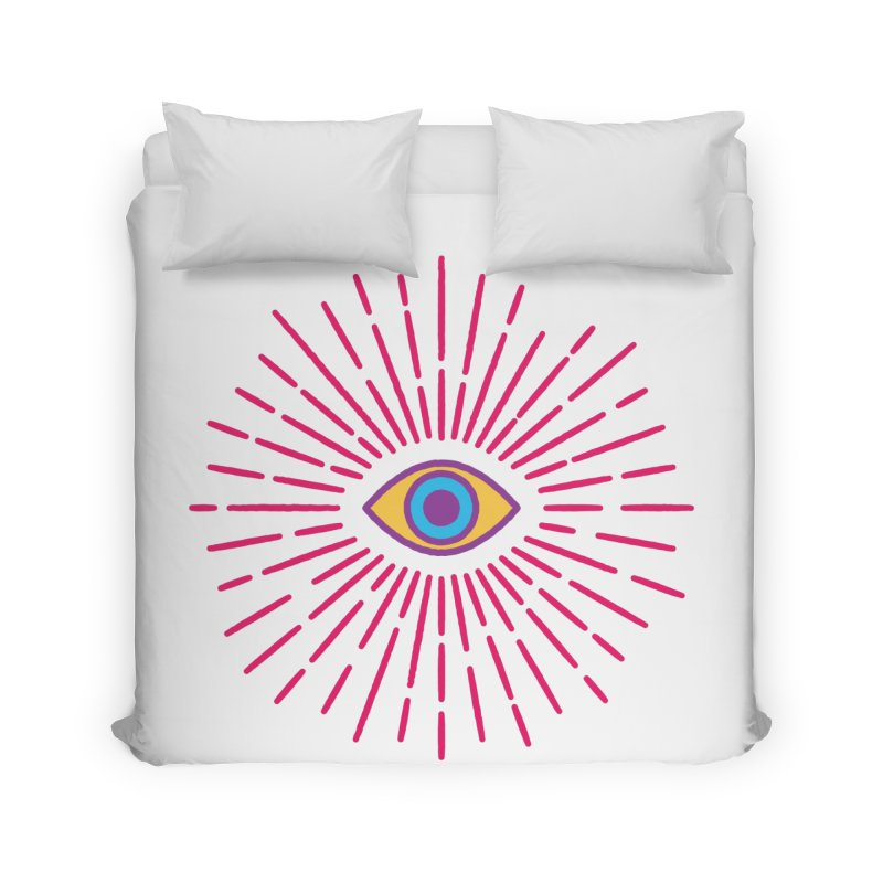 Third Eye Home Duvet by Quick Brown Fox