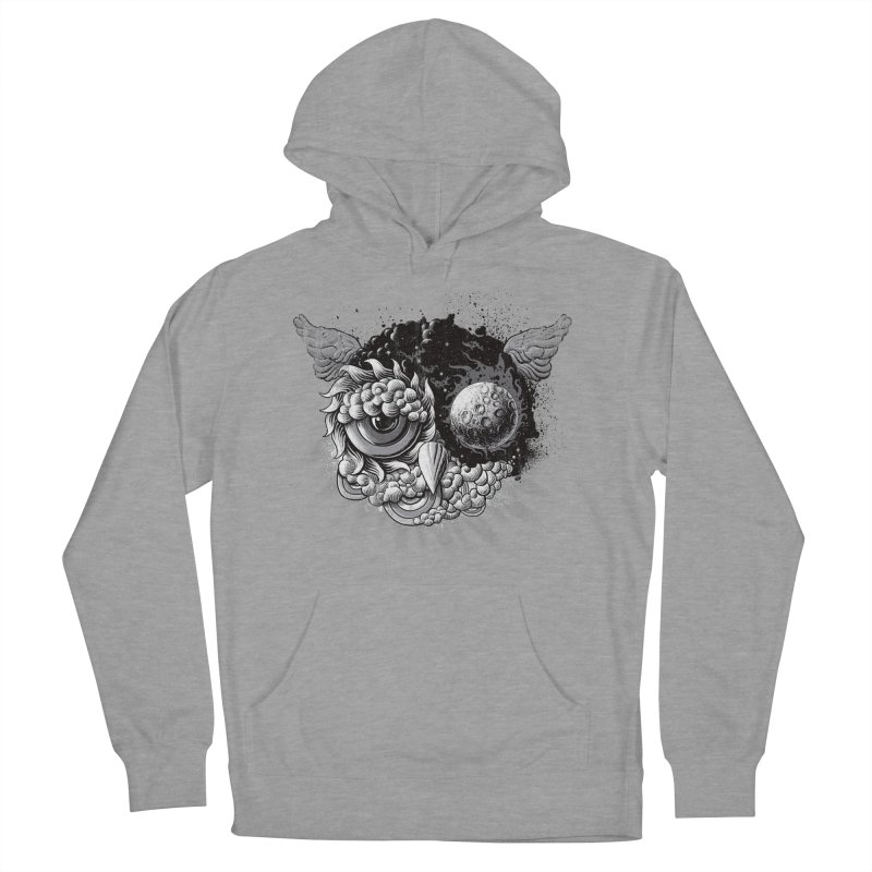 Owl Day & Owl Night Men's Pullover Hoody by Qetza