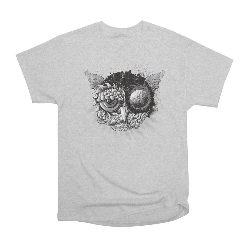 Owl Day & Owl Night Men's Classic T-Shirt by Qetza