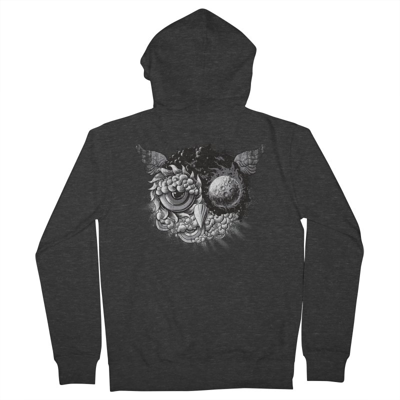 Owl Day & Owl Night Women's Zip-Up Hoody by Qetza