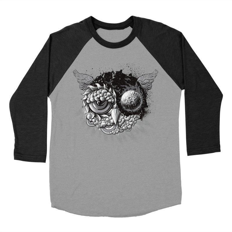 Owl Day & Owl Night Women's Baseball Triblend T-Shirt by Qetza