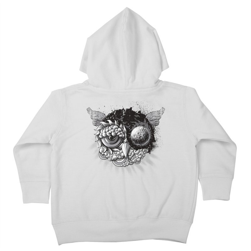 Owl Day & Owl Night Kids Toddler Zip-Up Hoody by Qetza
