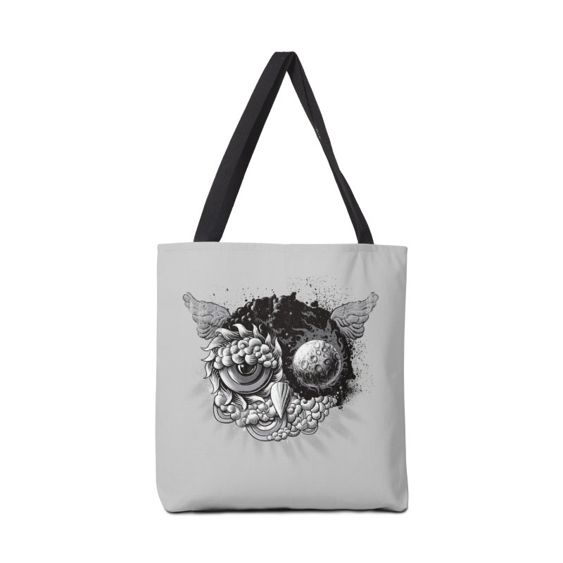 Owl Day & Owl Night Accessories Bag by Qetza