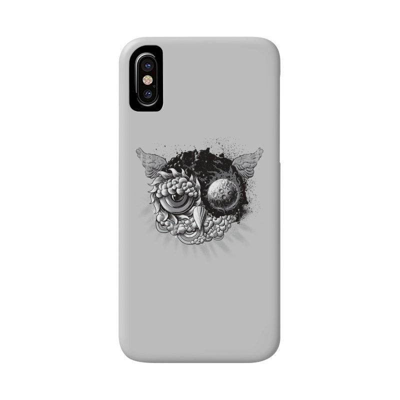 Owl Day & Owl Night Accessories Phone Case by Qetza