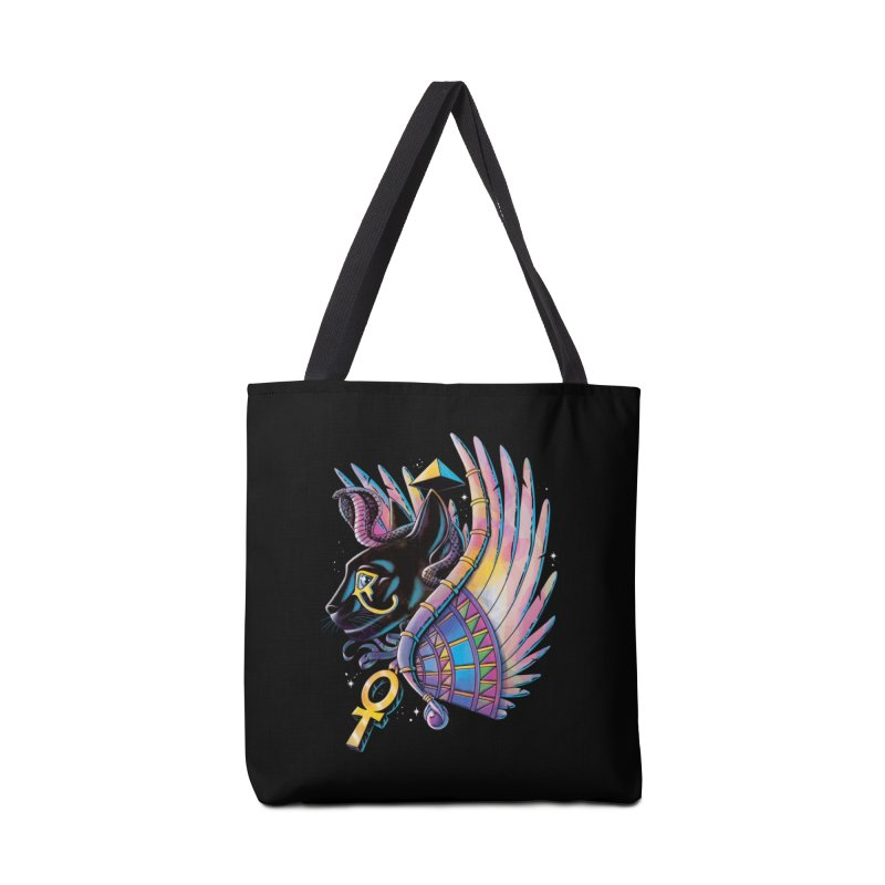 Pharaoh Cat Accessories Bag by Qetza