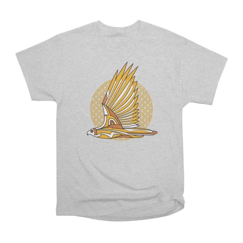 Hawk Deco 3 Men's Classic T-Shirt by Qetza