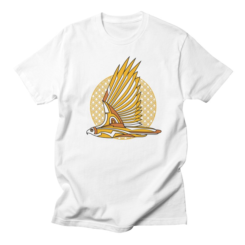 Hawk Deco 3 Women's Unisex T-Shirt by Qetza