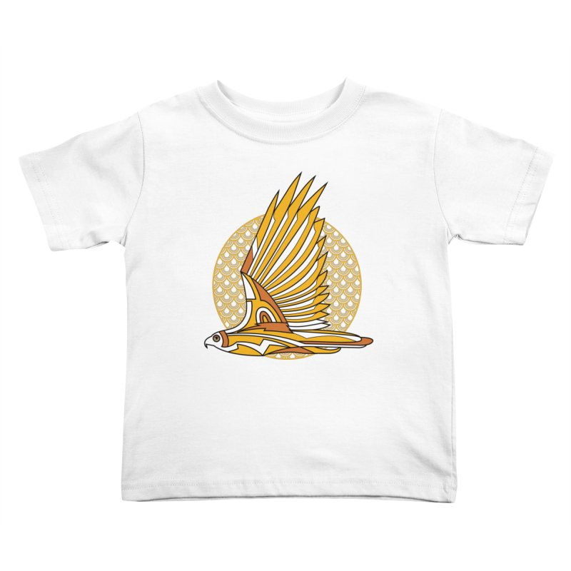 Hawk Deco 3 Kids Toddler T-Shirt by Qetza