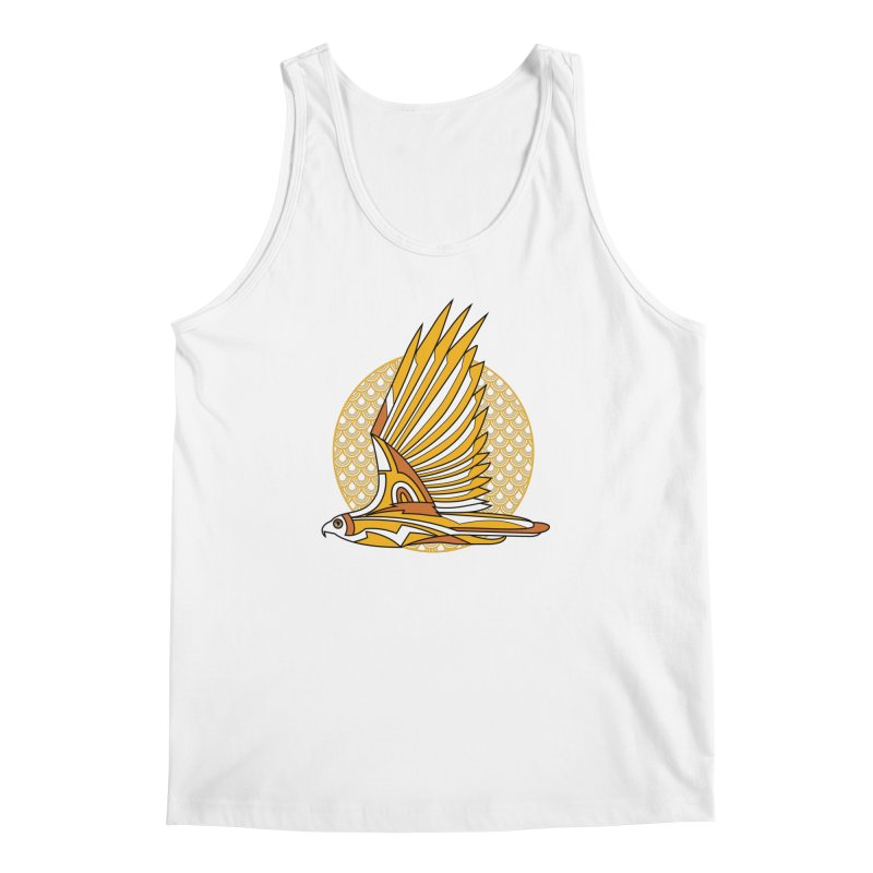 Hawk Deco 3 Men's Tank by Qetza