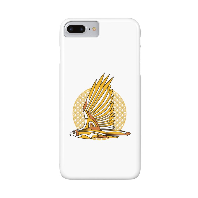 Hawk Deco 3 Accessories Phone Case by Qetza