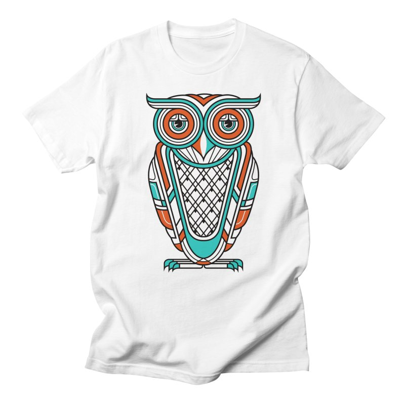 Art Deco Owl Women's Unisex T-Shirt by Qetza