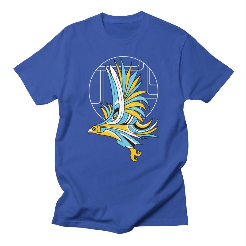 Hawk Deco Men's T-shirt by Qetza