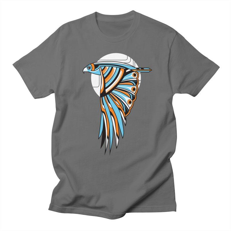 Hawk Deco 2 Men's T-shirt by Qetza