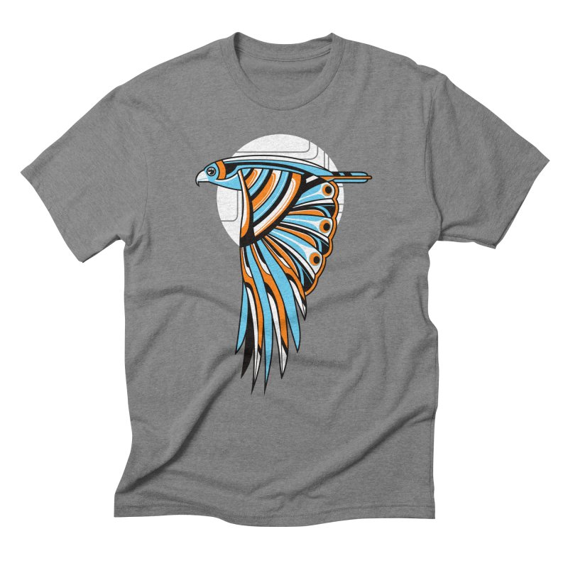 Hawk Deco 2 Men's Triblend T-shirt by Qetza
