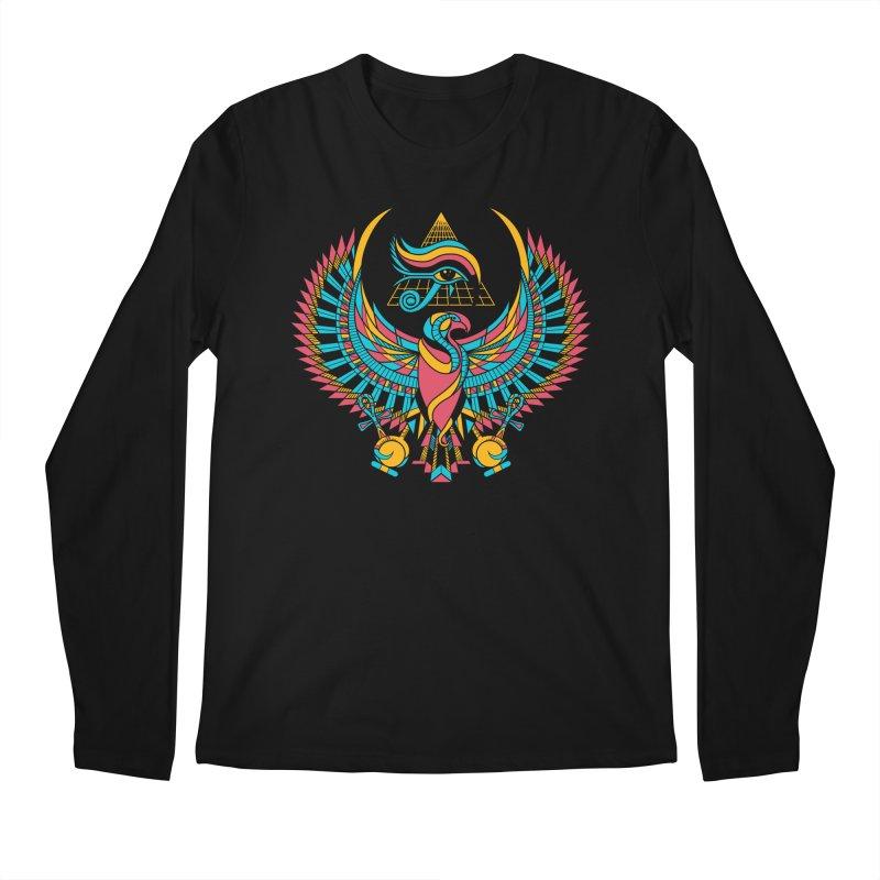 Eye of Horus Men's Longsleeve T-Shirt by Qetza