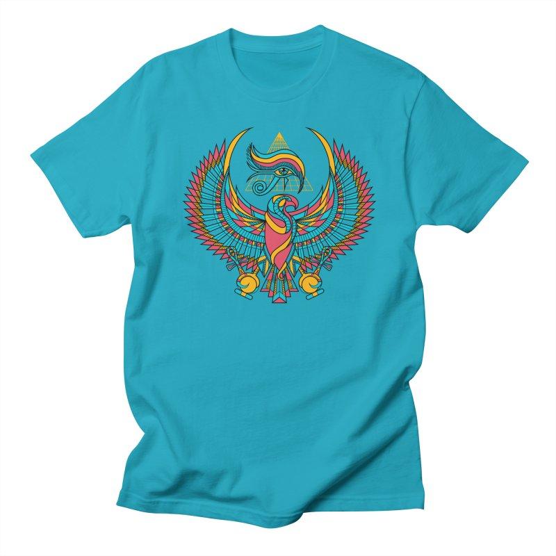 Eye of Horus Men's T-shirt by Qetza