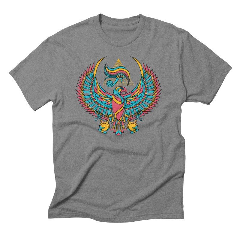 Eye of Horus Men's Triblend T-shirt by Qetza