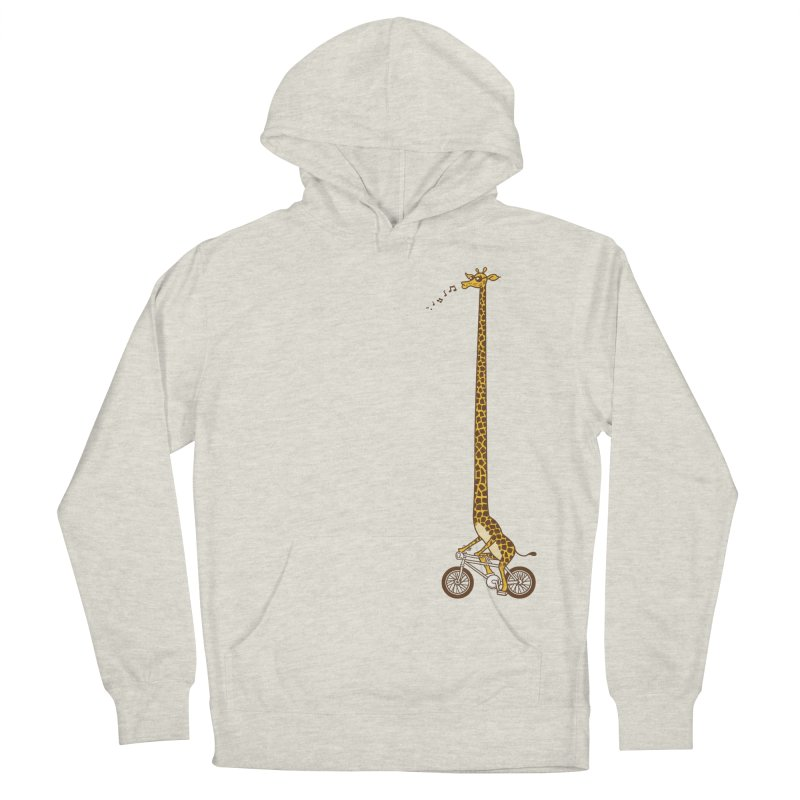 Long Bike Ride Men's Pullover Hoody by Qetza