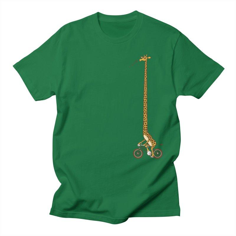 Long Bike Ride Men's T-shirt by Qetza