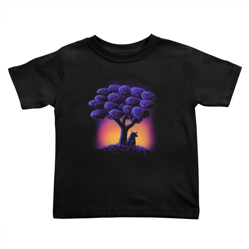 Ferdinand Kids Toddler T-Shirt by Qetza