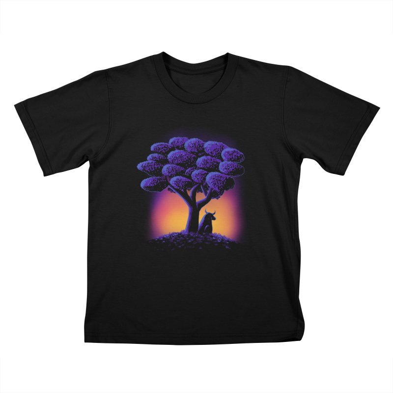 Ferdinand Kids T-Shirt by Qetza