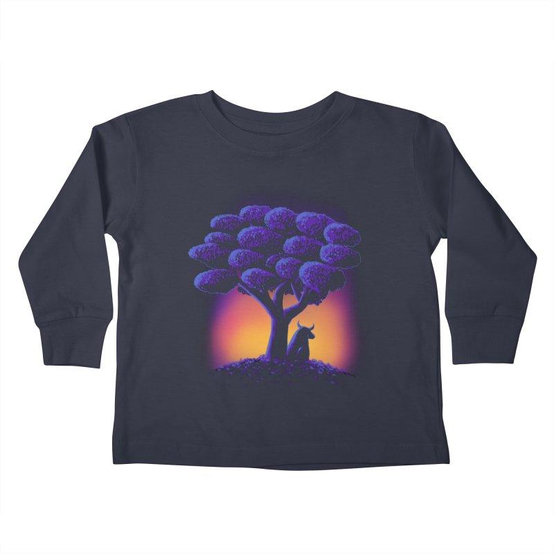Ferdinand Kids Toddler Longsleeve T-Shirt by Qetza