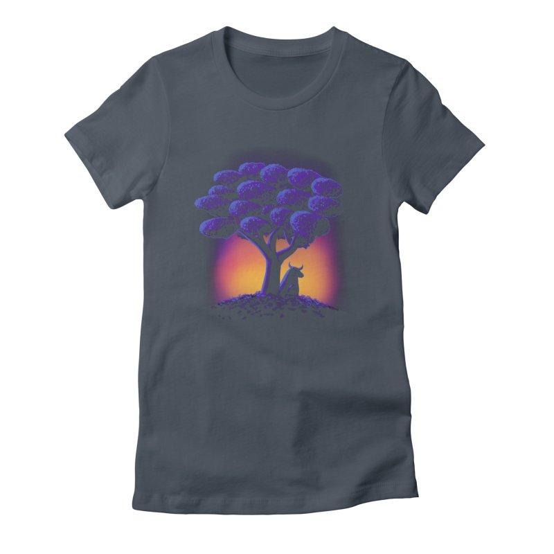 Ferdinand Women's Fitted T-Shirt by Qetza