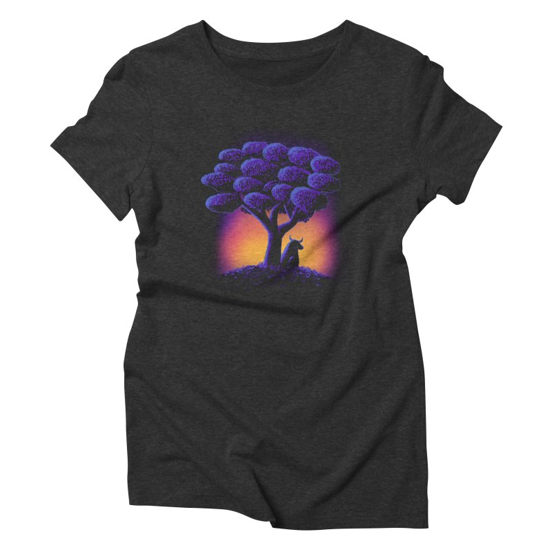 Ferdinand Women's Triblend T-shirt by Qetza