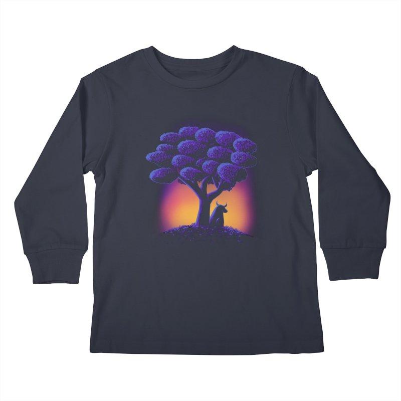 Ferdinand Kids Longsleeve T-Shirt by Qetza