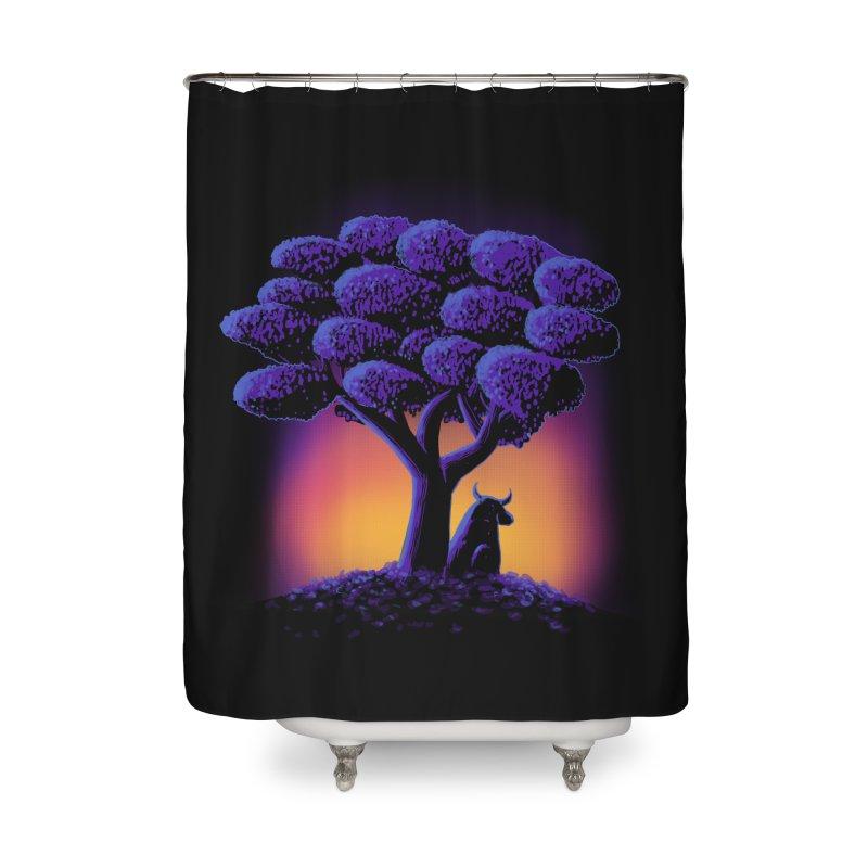 Ferdinand Home Shower Curtain by Qetza