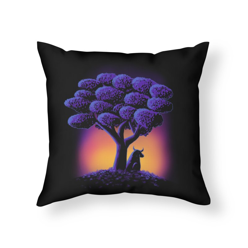 Ferdinand Home Throw Pillow by Qetza