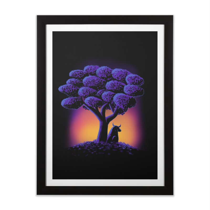Ferdinand Home Framed Fine Art Print by Qetza