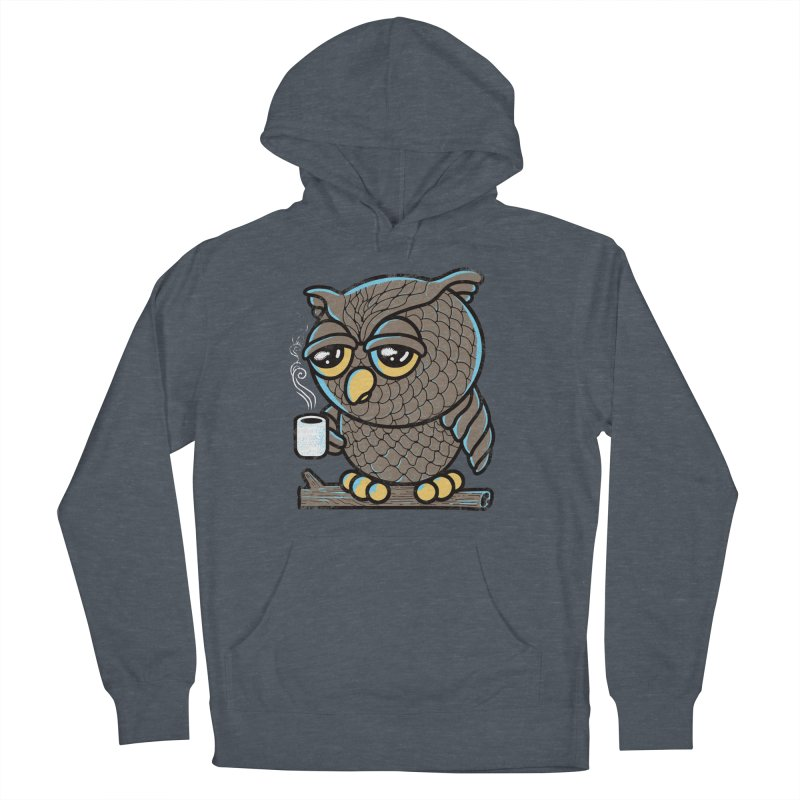 Owl I Want is Coffee Women's Pullover Hoody by Qetza