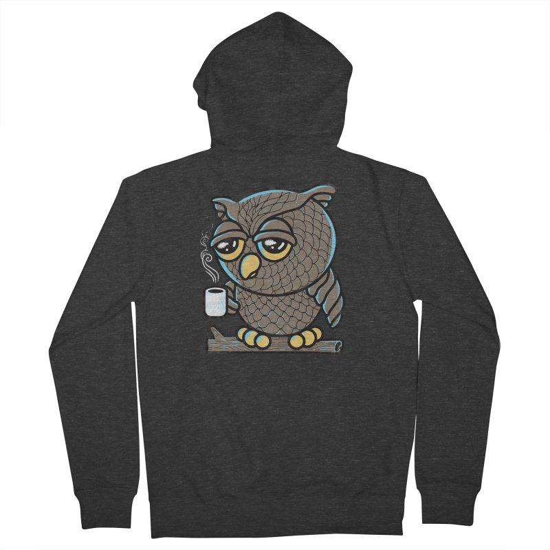 Owl I Want is Coffee Women's Zip-Up Hoody by Qetza