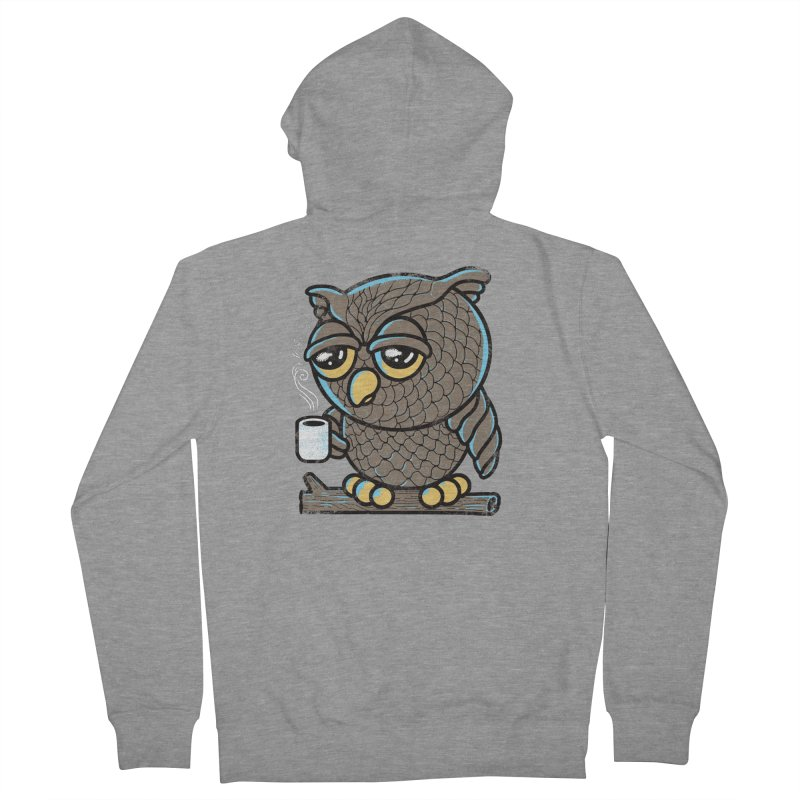 Owl I Want is Coffee Women's Zip-Up Hoody by Qetza
