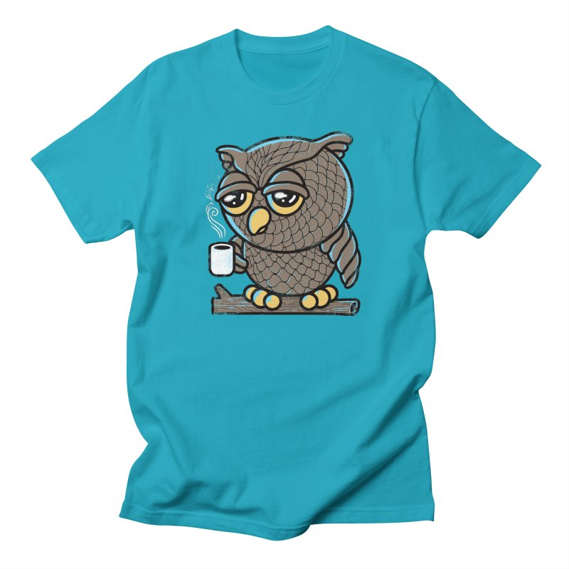 Owl I Want is Coffee Women's Unisex T-Shirt by Qetza