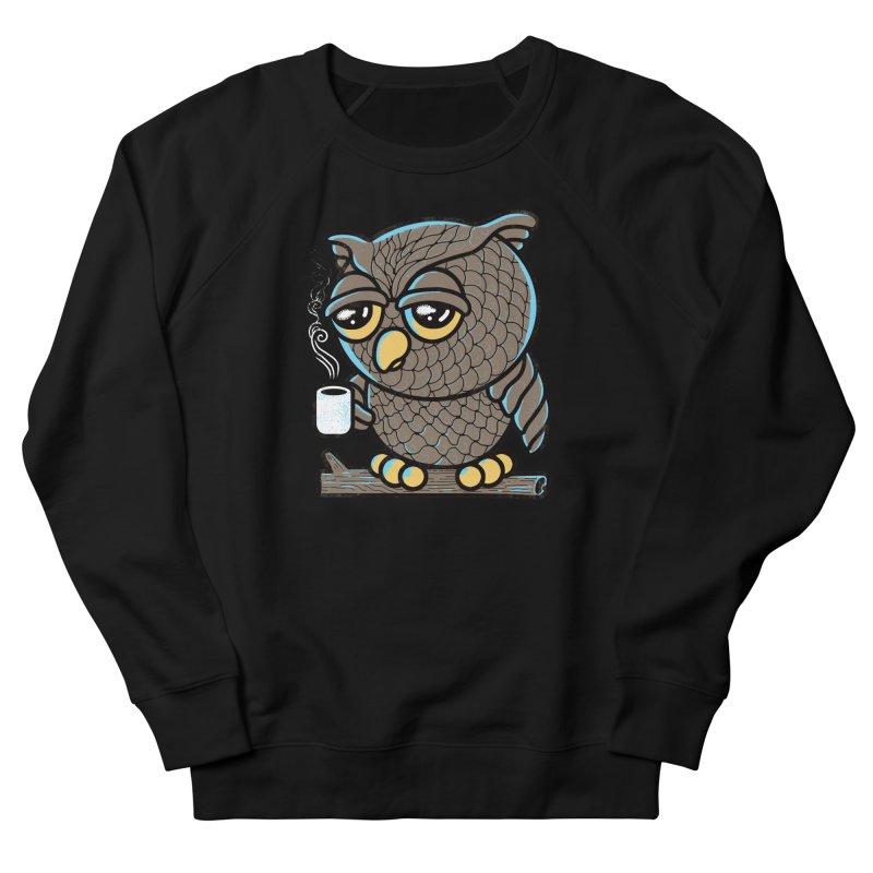 Owl I Want is Coffee Men's Sweatshirt by Qetza