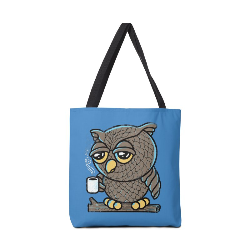 Owl I Want is Coffee Accessories Bag by Qetza