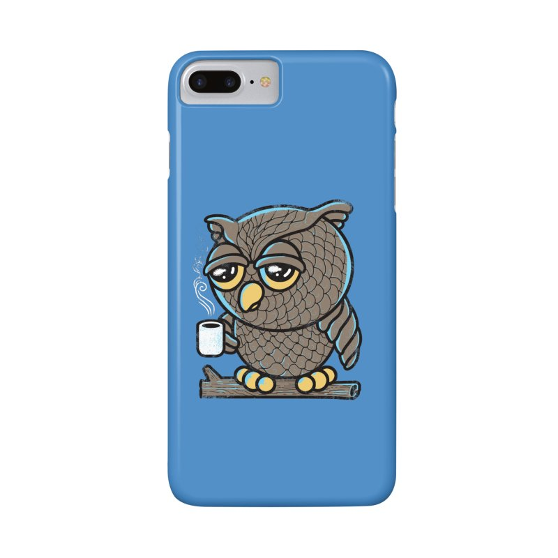 Owl I Want is Coffee Accessories Phone Case by Qetza
