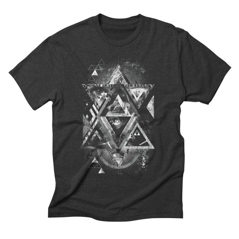 Eyesosceles Men's Triblend T-shirt by Qetza