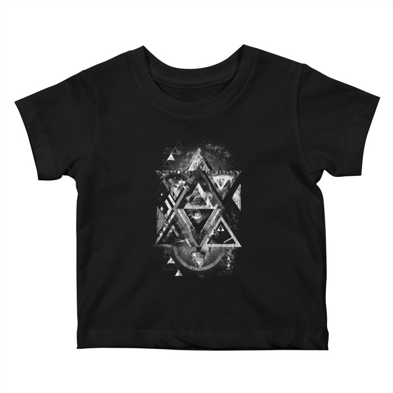 Eyesosceles Kids Baby T-Shirt by Qetza