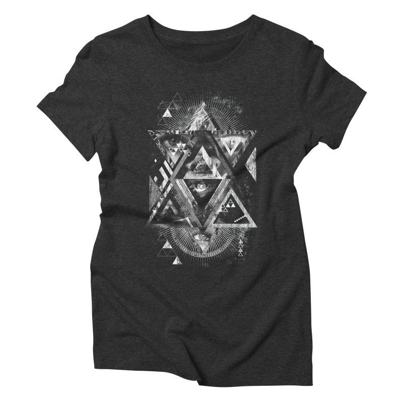 Eyesosceles Women's Triblend T-shirt by Qetza