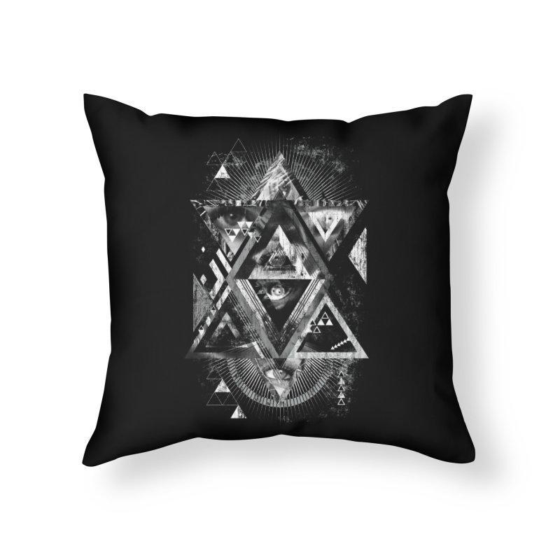 Eyesosceles Home Throw Pillow by Qetza
