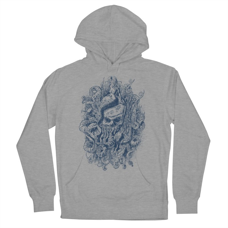 Mermaid of the Deep Men's Pullover Hoody by Qetza